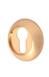 Накладка цилиндровая круглая (золото)