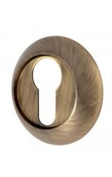 Накладка цилиндровая круглая (бронза)