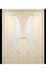 Двустворчатая дверь Лиана