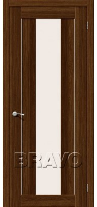 Межкомнатная дверь эко шпон MG1 alu MF