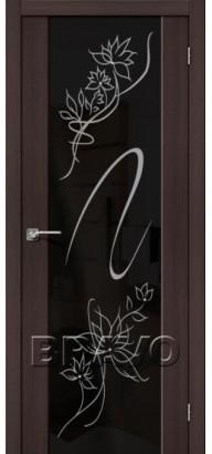 Межкомнатная дверь эко шпон S-13 Stamp